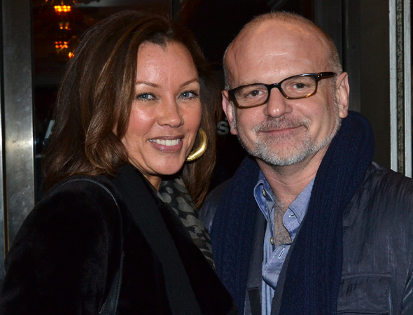 <p>Vanessa Williams shares the opening of <em>Machinal</em> with her <em>Trip to Bountiful</em> director, Michael Wilson.</p><br />(© David Gordon)