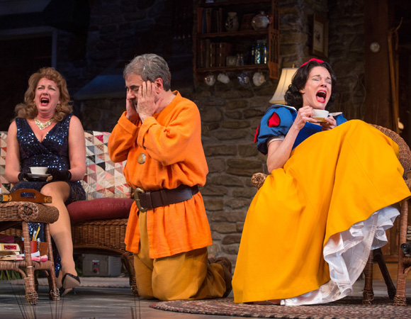 <p><em>Vanya and Sonia and Masha and Spike</em> celebrates its official opening at Paper Mill Playhouse on Sunday, January 25.</p><br />(© Matthew Murphy)