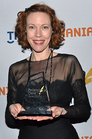 <p>Veanne Cox — a special award winner for her performances in <em>The Old Friends</em> and <em>The Most Deserving</em>.</p><br />(© David Gordon)