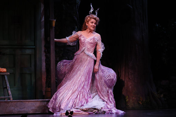 <p>Victoria Clark returns to the cast as Marie, the Fairy Godmother.</p><br />(© Carol Rosegg)