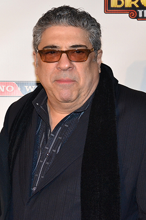 <p>Vincent Pastore takes on the role of gangster Nick Valenti.</p><br />(© David Gordon)