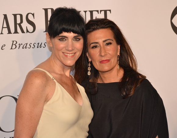 <p><em>Violet</em> composer Jeanine Tesori (right) joins the revival&#39&#x3B;s Tony-nominated director, Leigh Silverman.</p><br />(© David Gordon)