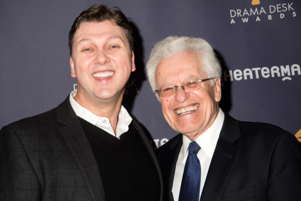 <p>Warren Carlyle and Jerry Zaks, nominees for <em>Hello, Dolly!</em></p><br />(© Monica Simoes)