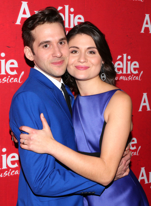 <p>Welcome back to Broadway, Adam Chanler-Berat and Phillipa Soo!</p><br />(© David Gordon)