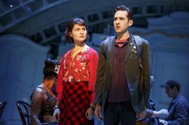 <p>Welcome back to Broadway, Phillipa Soo and Adam Chanler-Berat!</p><br />(© Joan Marcus)