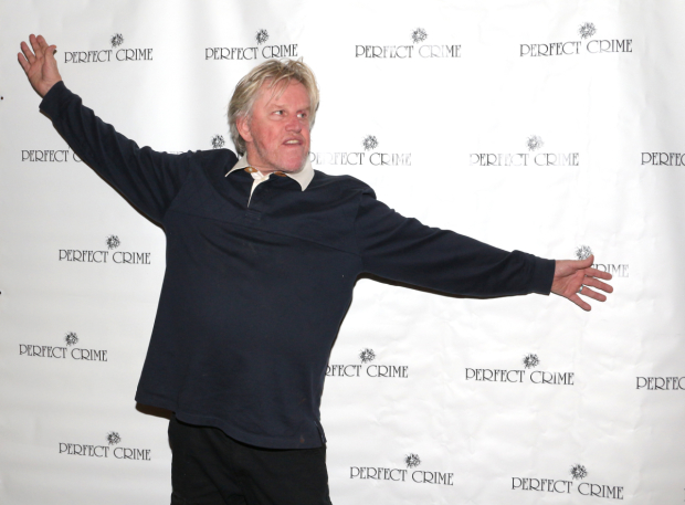 <p>Welcome to the theater, Gary Busey!</p><br />(© David Gordon)