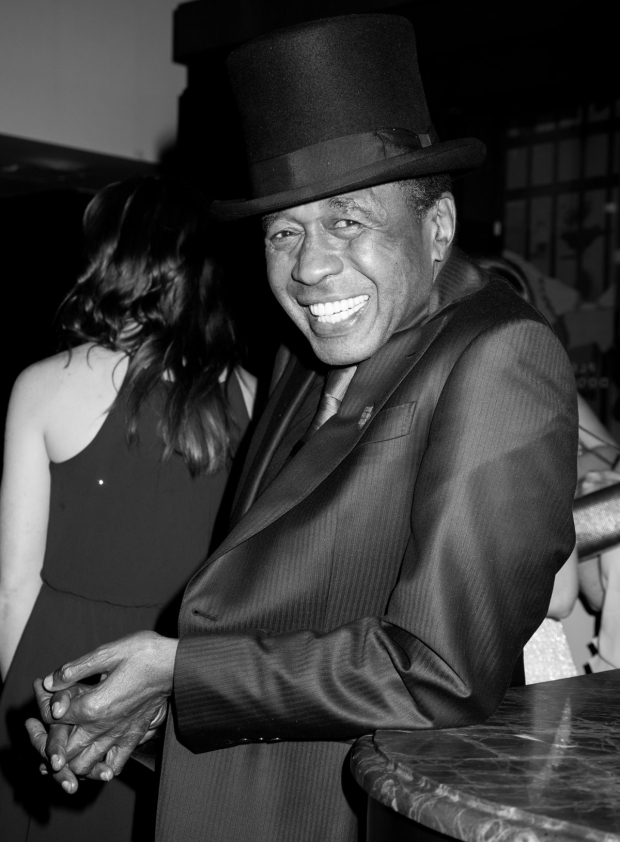 <p>What would a Broadway party be without the dapper Ben Vereen?</p><br />(© Monica Simoes)