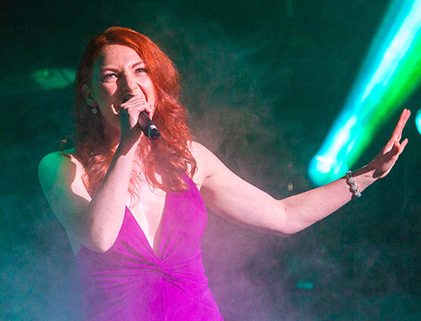 "<p><em>Wicked</em> star Willemijn Verkaik closes the show with ""Let it Go"" from <em>Frozen</em>.</p><br />(© Peter Gibbons)"