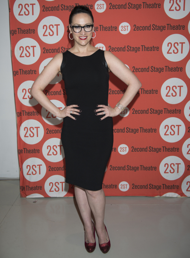 <p><em>Wicked</em> vet Eden Espinosa was also on hand for the show.</p><br />(© Allison Stock)