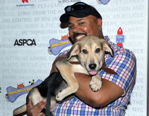 <p>Will Broadway&#39&#x3B;s Genie, James Monroe Iglehart, grant this beautiful pet&#39&#x3B;s wish to be adopted?</p><br />(© David Gordon)