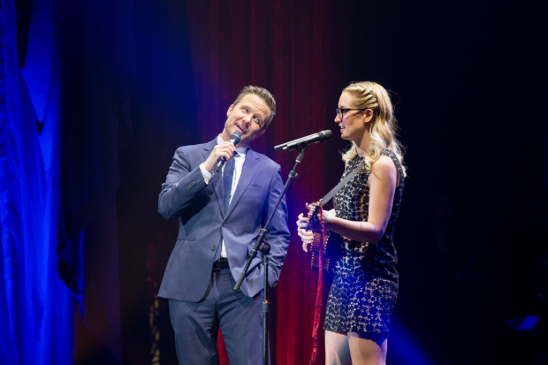 <p>Will Chase performed with Ingrid Michaelson.</p><br />(© Kelly Kollar)