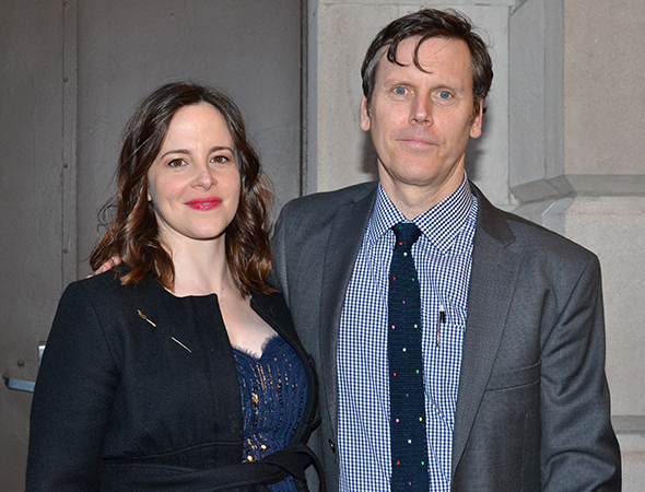 <p>Will Eno is proud to celebrate his Broadway debut alongside his expectant wife, Tony nominee Maria Dizzia.</p><br />(© David Gordon)