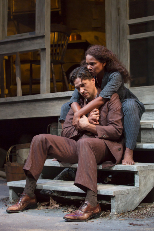 <p>Will Swenson and Audra McDonald lead the cast of <em>A Moon for the Misbegotten</em> as James Tyrone Jr. and Josie Hogan.</p><br />(© T. Charles Erickson)
