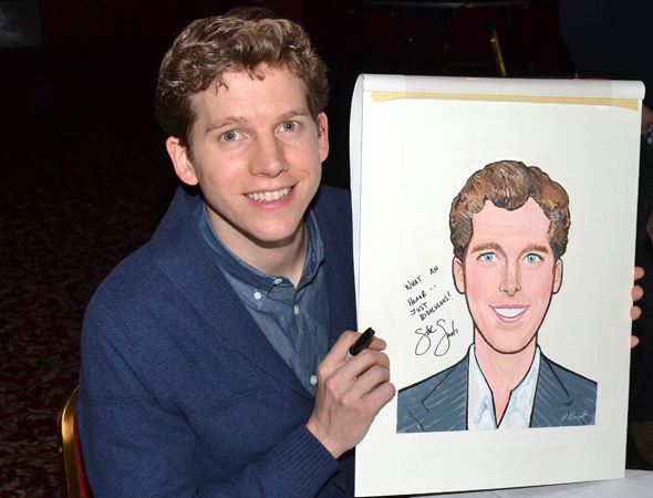 <p>Will the real Stark Sands please stand up?</p><br />(© David Gordon)
