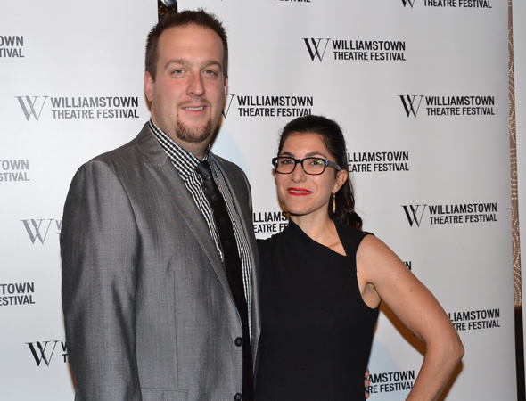 <p>Williamstown Theatre Festival head honchos Stephen Kaus (producer) and Jenny Gersten (artistic director) are proud to support their organization.</p><br />(© David Gordon)
