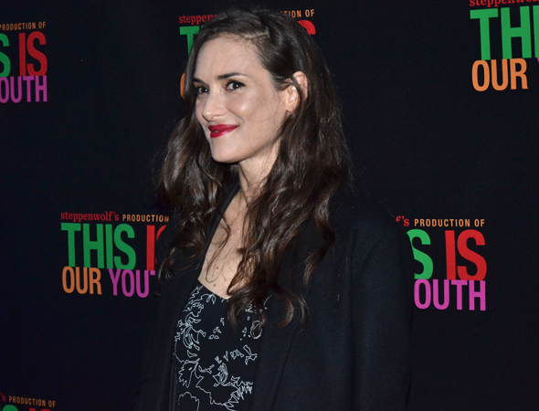 <p>Winona Ryder is ready to spend a night on Broadway.</p><br />(© David Gordon)