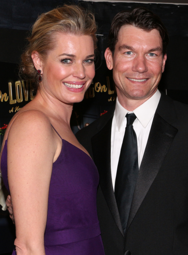 <p>With his wife, actress Rebecca Romijn, by his side, Jerry O&#39&#x3B;Connell returns to Broadway as writer Robert Samson.</p><br />(© David Gordon)