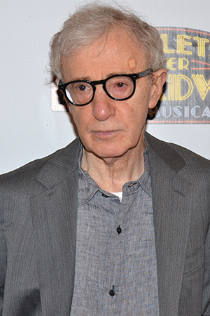 <p>Woody Allen is the mastermind behind <em>Bullets Over Broadway</em>, both the film and the new stage musical.</p><br />(© David Gordon)
