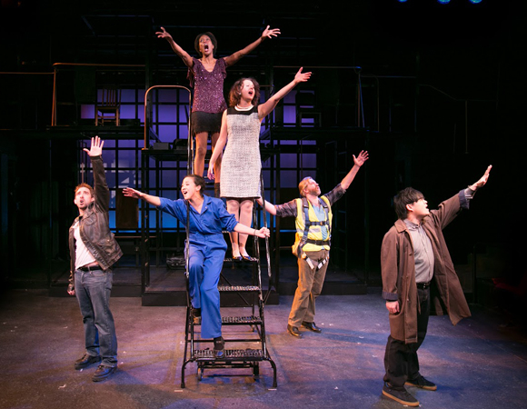 <p><em>Working</em> runs at Boston&#39&#x3B;s Lyric Stage Company through February 1.</p><br />(© Mark S. Howard)