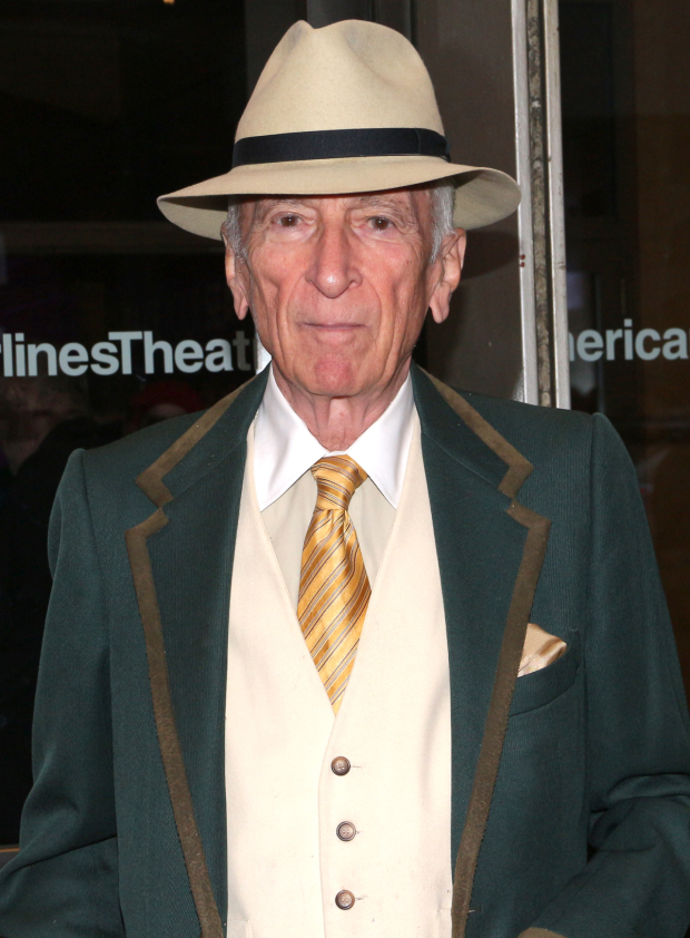 <p>Writer Gay Talese is looking dapper on opening night.</p><br />(© David Gordon)