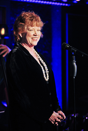 <p>WTF regular Becky Ann Baker (<em>Girls</em>) took the stage at 54 Below.</p><br />(© Jenny Anderson)