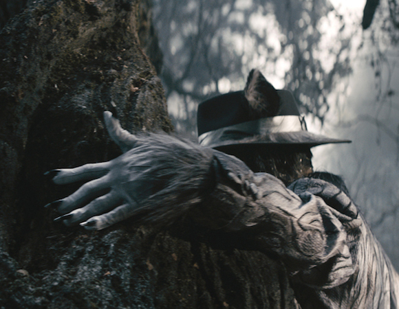 <p>You may not be able to tell, but Johnny Depp is hiding underneath that fierce Wolf fedora.</p><br />(© Disney Enterprises, Inc.)