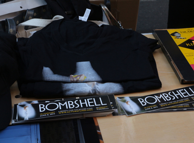 <p>You never know what you&#39&#x3B;ll find at the Flea Market...even merchandise from a one-night-only concert of <em>Bombshell</em>, the musical within the short-lived television series <em>Smash</em>.</p><br />(© David Gordon)