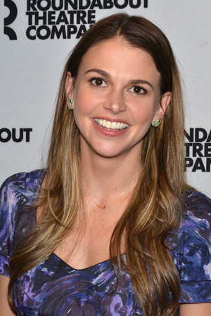 <p>You&#39&#x3B;d never know that Sutton Foster just tore it up onstage.</p><br />(© David Gordon)
