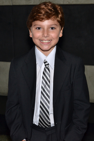 <p>Youngster Anthony Pierini also appears in <em>Big Fish</em> during select performances.</p><br />(© David Gordon)