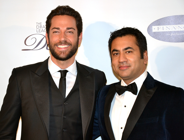 <p>Zachary Levi and Kal Penn were among the stars on hand to honor Neil Patrick Harris.</p><br />(© David Gordon)
