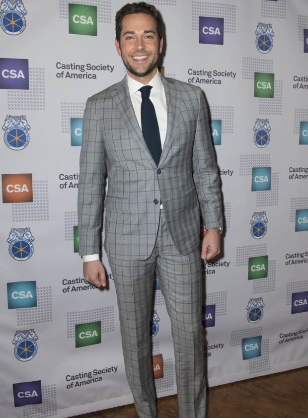 <p>Zachary Levi will return to Broadway this February in <em>She Loves Me</em> at Studio 54.</p><br />(© Allison Stock)