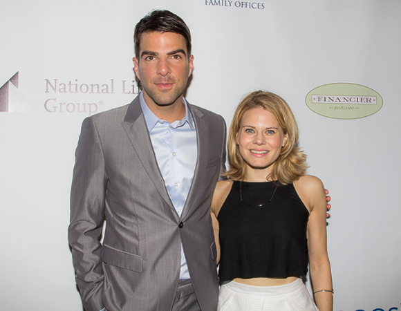 <p>Zachary Quinto and Celia Keenan-Bolger, Distinguished Performance Award nominees for <em>The Glass Menagerie</em>.</p><br />(© Seth Walters)