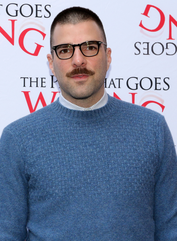 <p>Zachary Quinto is on hand to support his <em>Star Trek</em> comrade J.J. Abrams in his Broadway debut.</p><br />(© David Gordon)