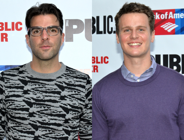 <p>Zachary Quinto was on hand to perform Paul&#39&#x3B;s Monologue from <em>A Chorus Line</em>. Jonathan Groff sang &quot&#x3B;I Can Do That.&quot&#x3B;</p><br />(©  David Gordon)
