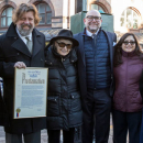 Photo Flash: Joseph Papp Way Officially a Part of the City