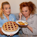 Photo Flash: A Meeting of the Pies on Broadway