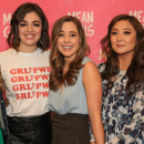 Photo Flash: Tina Fey and the Company of Mean Girls Meet the Press