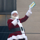 Photo Flash: Santa Claus and the Rockettes Celebrate Christmas in August