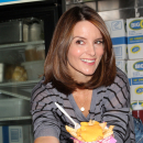 Photo Flash: Tina Fey Celebrates Mean Girls Day by Serving Cheese Fries to Fans