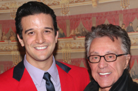 Frankie Valli Meets Mark Ballas and Broadway Cast of Jersey Boys