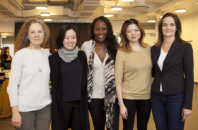 Rehearsals Underway for Lincoln Center Theatre's Bull in a China Shop