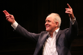 John Lithgow Is Welcomed Back to Broadway