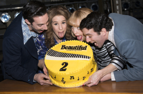 """Three Beautiful Casts Sing """"Happy Birthday"""" to Carole King and Barry Mann"""