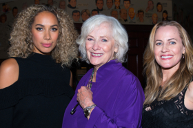 Betty Buckley Meets New Cats Stars Leona Lewis and Mamie Parris