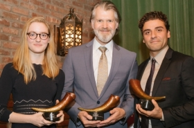 Oscar Isaac and More Honored at Red Bull Theater's Annual Gala