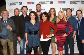 Megan Hilty, Rob McClure, Andrea Martin, and Stars of Noises Off Meet the Press