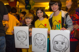 Fun Home, Kinky Boots Children Celebrate Kids' Night on Broadway