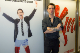 Kinky Boots's Brendon Urie Checks Himself Out on the New York City Subway