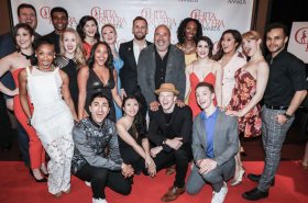 Ariana DeBose, Tony Yazbeck Walk the Red Carpet at the Chita Rivera Awards