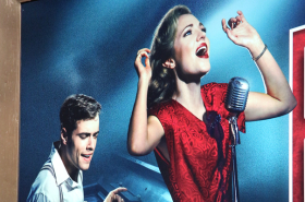 Laura Osnes and Corey Cott-Led Bandstand Gets Its Broadway Marquee